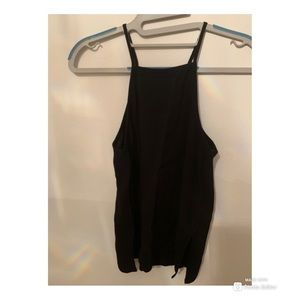 Black Tank Top from Topshop